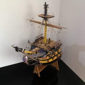 HMS Victory Cross Sectional Model - Nelsons Flagship Trafalgar