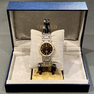 Vintage Concord Saratoga 18ct Gold and Stainless Steel Watch