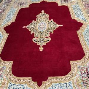 Large Stunning Hand Knotted Persian Rug Kirman - Superb Quality Piece