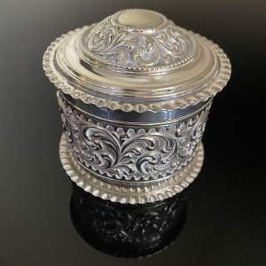 Luxury Silver Plated Sweetmeats Canister - Luxury Sweet Canister