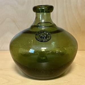 Mid Century Scandinavian Eric Hoglund Glass Vase
