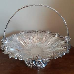 Edwardian Antique Silver Plated Comport