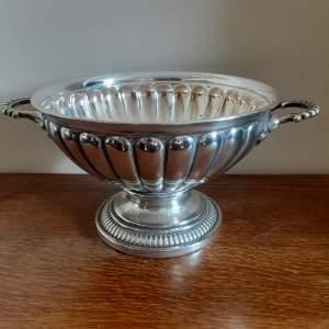 Antique Art Nouveau WMF Silver Plate Bowl - Circa 1900