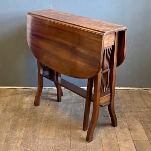 Late 19th Century Mahogany Sutherland Table