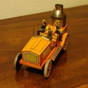 Antique German Tinplate Toy Fire Engine