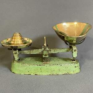 Set of Small Vintage Sweet Shop Scales