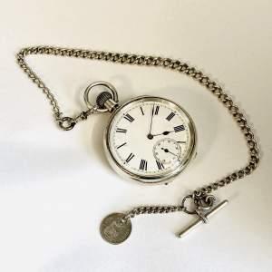 Fine Quality Silver Cased Watch by Sir John Bennet Ltd.