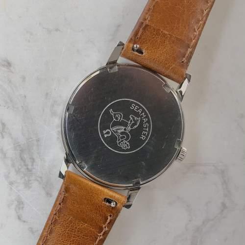 Vintage Gents 1964 Omega Seamaster 600 135.011 on Leather Strap image-5
