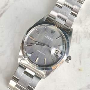 Vintage Gents 1970 Rolex Oyster Date Precision 6694 Grey Dial