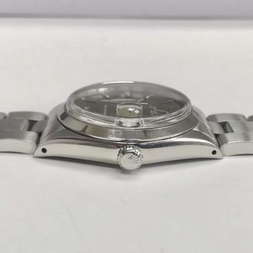 Vintage Gents 1970 Rolex Oyster Date Precision 6694 Grey Dial image-3