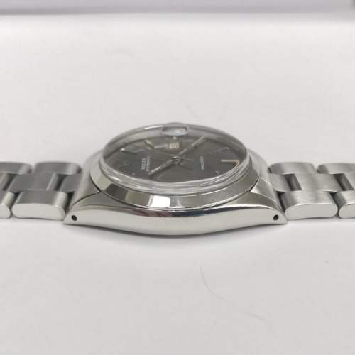 Vintage Gents 1970 Rolex Oyster Date Precision 6694 Grey Dial image-4