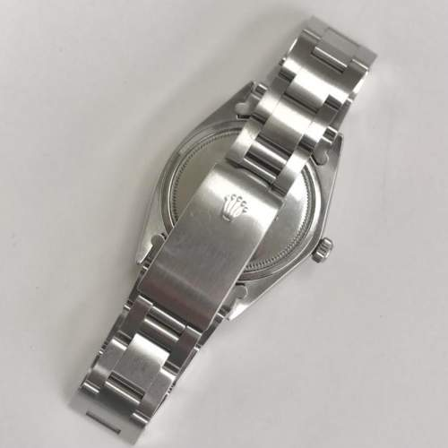Vintage Gents 1970 Rolex Oyster Date Precision 6694 Grey Dial image-5