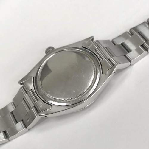 Vintage Gents 1970 Rolex Oyster Date Precision 6694 Grey Dial image-6