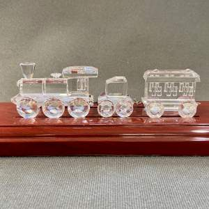Swarovski Crystal Three Piece Train