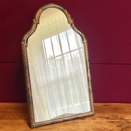 Queen Anne Style Chinoiserie Framed Table Mirror image-1
