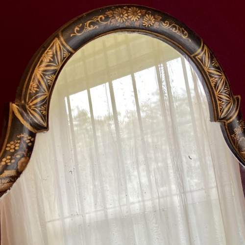 Queen Anne Style Chinoiserie Framed Table Mirror image-3