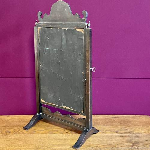 Queen Anne Style Walnut Dressing Table Mirror image-5