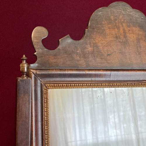 Queen Anne Style Walnut Dressing Table Mirror image-4