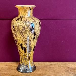 Monart Baluster Glass Vase