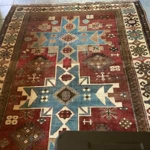 Superb Old Hand Knotted Turkish Rug Kars Kazak - Wonderful Colours
