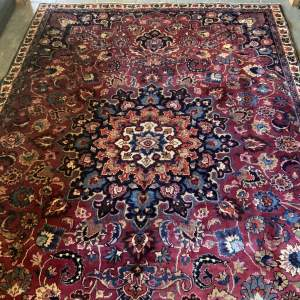 Superb Old Hand Knotted Persian Rug Tabriz - Stunning Piece
