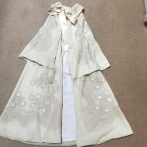 Elaborate Victorian  Fine  Wool  Travelling  Cape  for  Baby