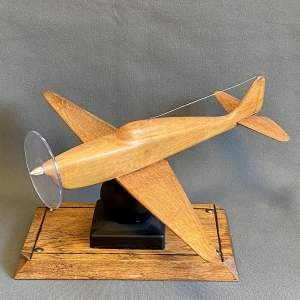1940s French Craftsman Made Model Monoplane