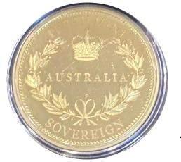 2014 Australian Gold Proof Sovereign image-2