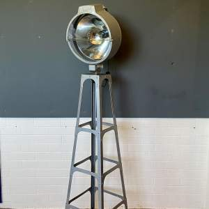 Vintage Spot Lamp on a Tower Base by British Bullfinch