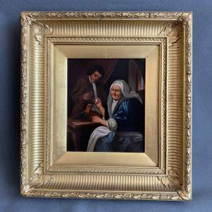 Original Victorian Oil Painting