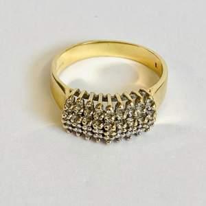 18ct Gold Multi Diamond Ring