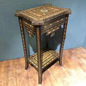 Antique Middle Eastern Side Table