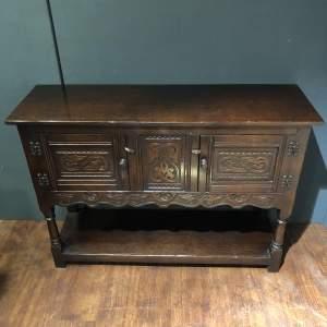 Antique Oak Small Dresser Base