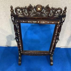 Mother of Pearl and Rosewood Dressing Mirror