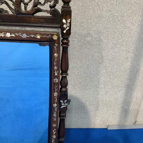 Mother of Pearl and Rosewood Dressing Mirror image-3