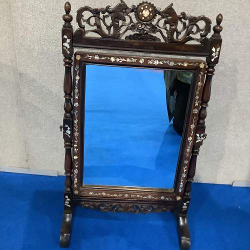 Mother of Pearl and Rosewood Dressing Mirror image-5