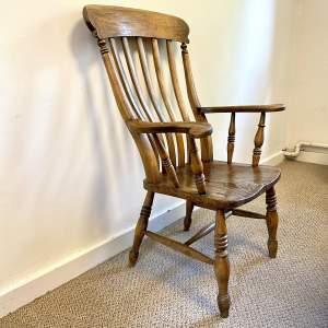 Late Victorian Farmhouse Windsor Chair