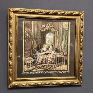 19th Century Framed Tapestry
