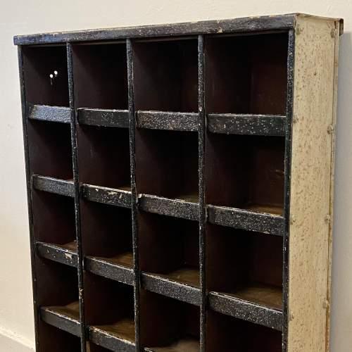 Vintage Set of 24 Metal Pigeon Holes image-3