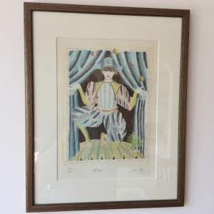 Jane Ray Harlequin Signed Limited Edition Print