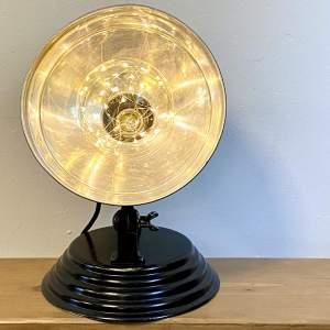 Vintage Barber Heat Lamp Upcycled Light