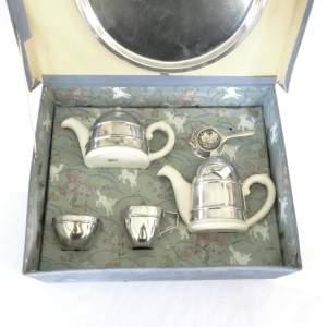 Mid Century Retro Kavin Kupid Childs Boxed Kosy Tea Set