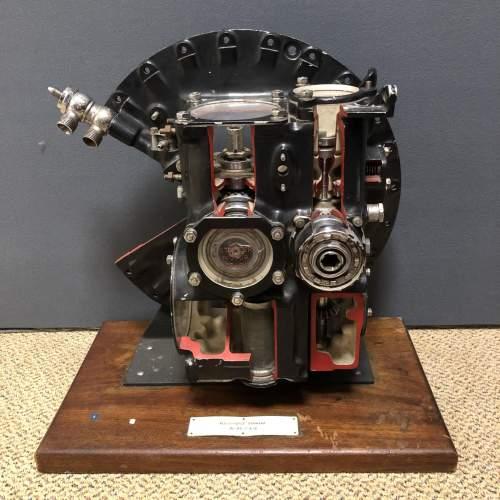 Museum Piece Cutaway Rolls Royce Derwent Jet Engine image-1