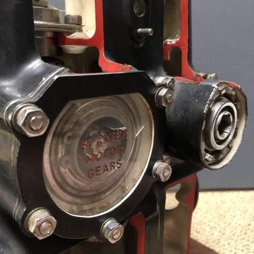 Museum Piece Cutaway Rolls Royce Derwent Jet Engine image-3