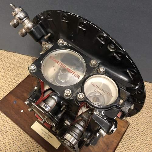Museum Piece Cutaway Rolls Royce Derwent Jet Engine image-6