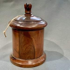 George III Large Lignum Vitae String Box