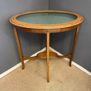 Victorian Oval Bijouterie Table