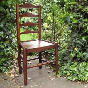 Lincolnshire Antique 19th Century Peg Jointed Ash and Elm Chair