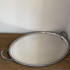 Superb Quality Silver Plated Serving Tray - Late Victorian