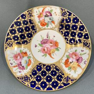 Early 19th Century Coalport Plate